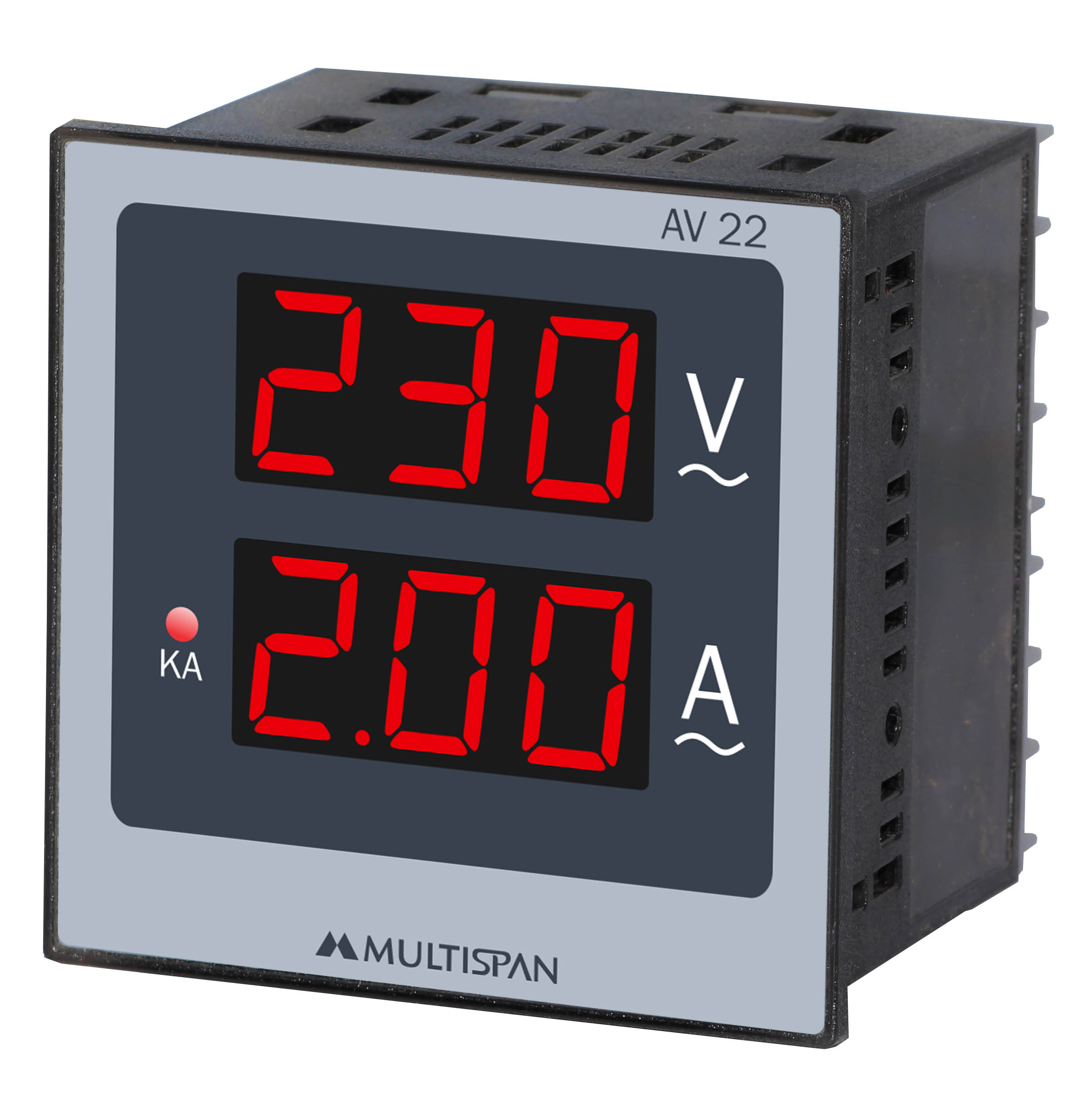 Đồng hồ đo điện áp, dòng điện 1 pha