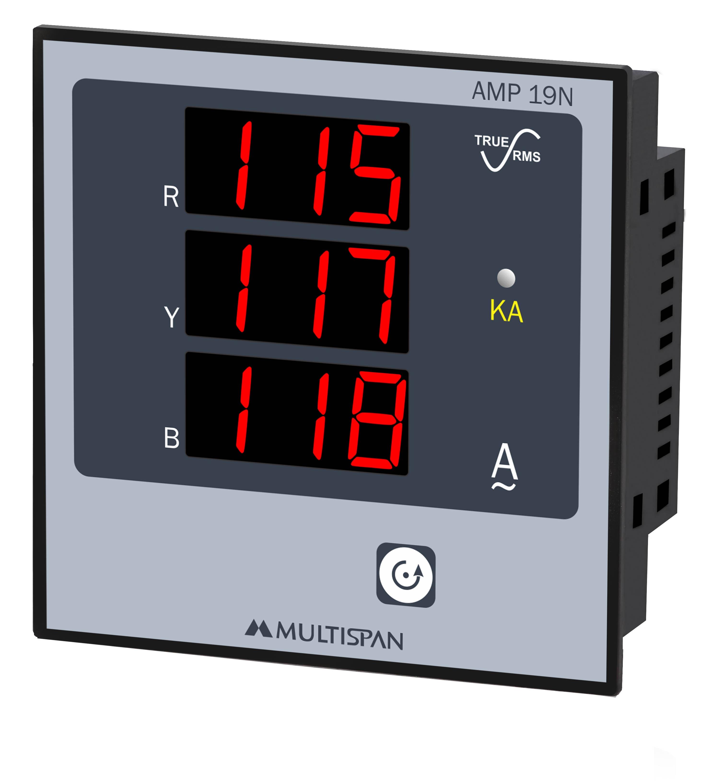 Đồng hồ đo dòng điện 3 pha