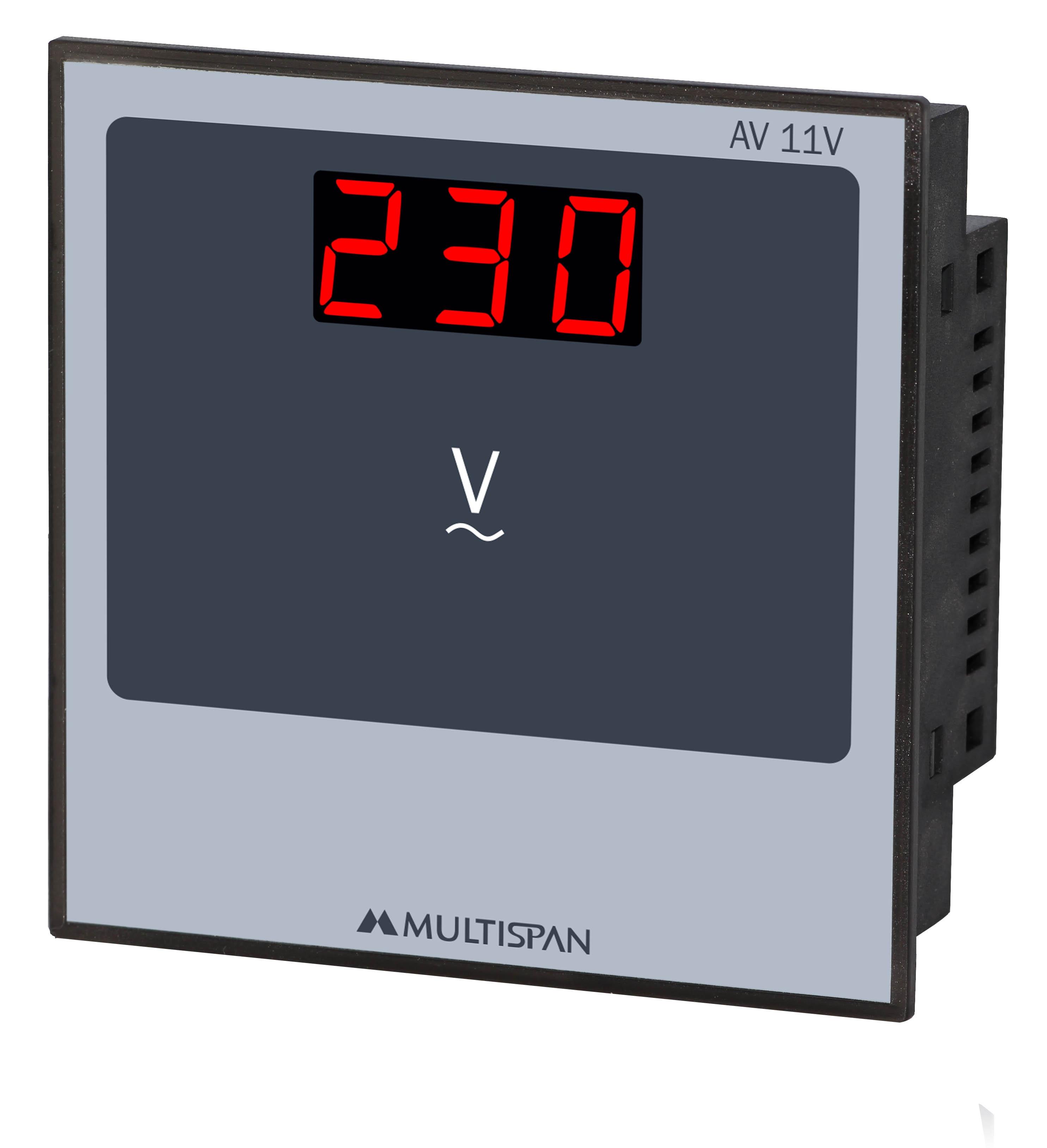 Đồng hồ đo điện áp 1 pha